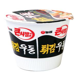 튀김우동컵