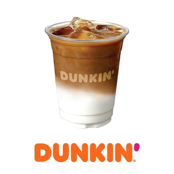 (던킨도너츠) 아이스 카페라떼(S)